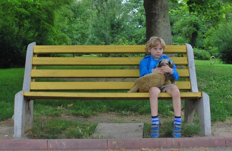 copil singur