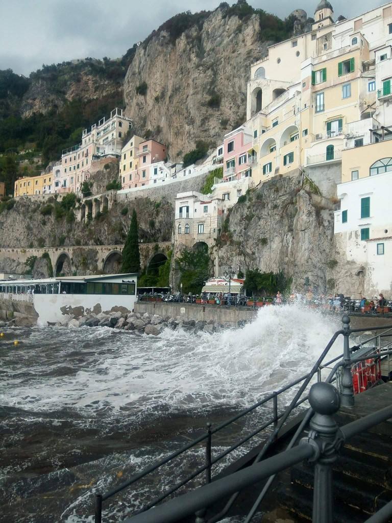 Marea agitată din Amalfi